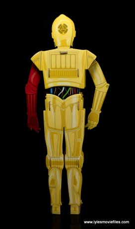 Star Wars Builders Droids set - C3P0 rear