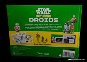 Star Wars Builders Droids set -book rear