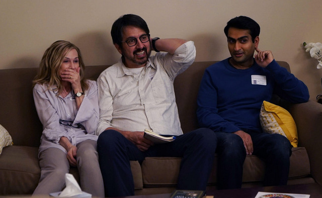 The Big Sick - Beth, Terry and Kumail