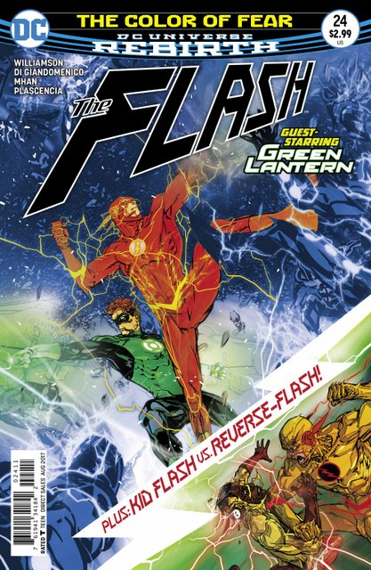 The Flash #24 cover