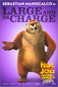 The Nut Job 2 Nutty by Nature character posters - Johnny