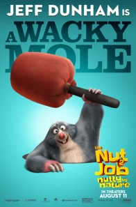 The Nut Job 2 Nutty by Nature character posters - _MOLE