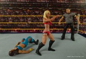 WWE Basic Alexa Bliss figure review - backflip ready