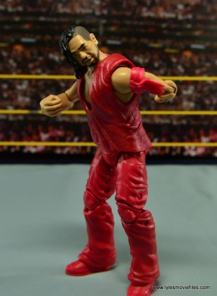 WWE Defining Moments Shinsuke Nakamura figure review -bowing