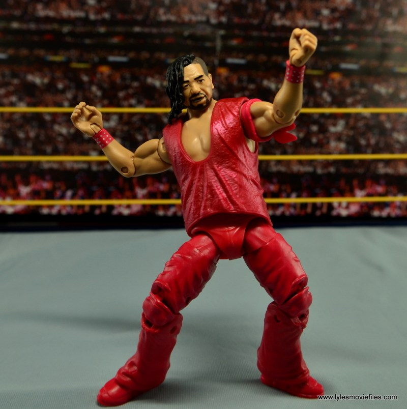 WWE Defining Moments Shinsuke Nakamura figure review -playing around in ring