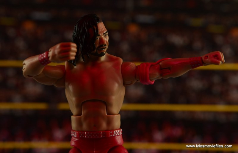 WWE Defining Moments Shinsuke Nakamura figure review -posing