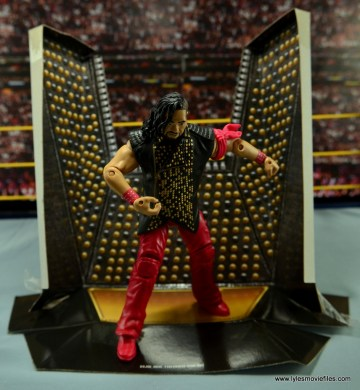 WWE Defining Moments Shinsuke Nakamura figure review -standing in display