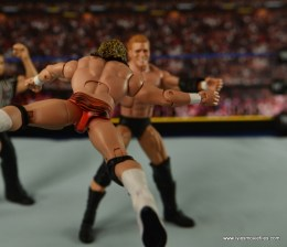 WWE Elite Flyin Brian figure review - flying clothesline