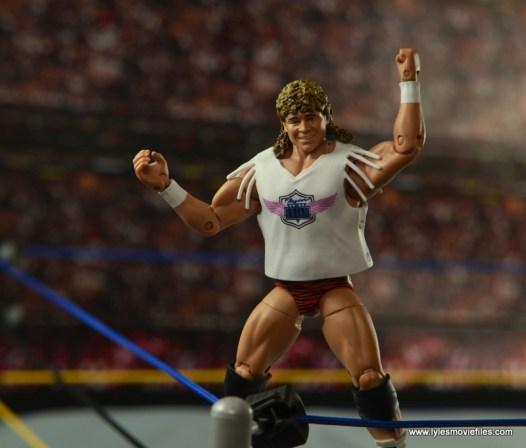 WWE Elite Flyin Brian figure review -on turnbuckle