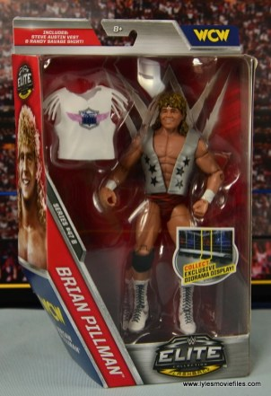 WWE Elite Flyin Brian figure review - package front