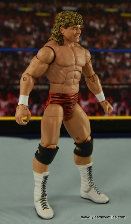 WWE Elite Flyin Brian figure review -right side