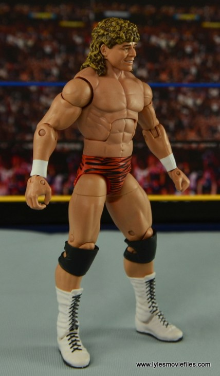 WWE Elite Flyin Brian figure review -right side