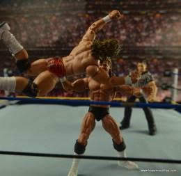 WWE Elite Flyin Brian figure review -springing crossbody