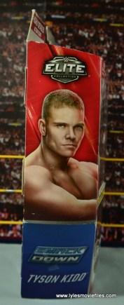 WWE Elite Tyson Kidd figure review -package side