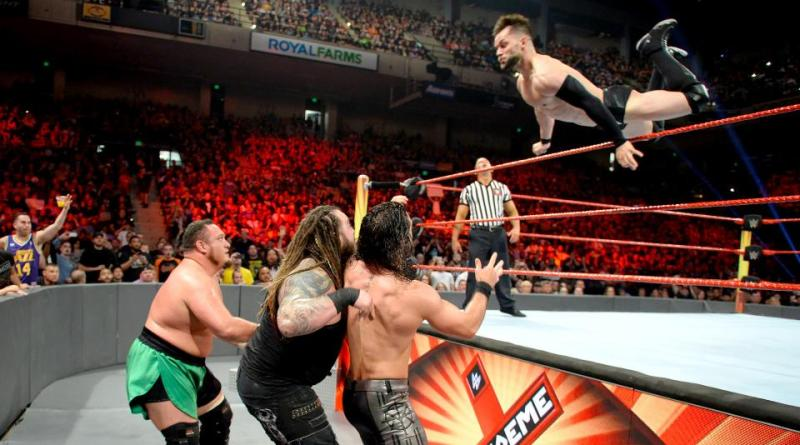 WWE Extreme Rules 2017 - Finn Balor soars