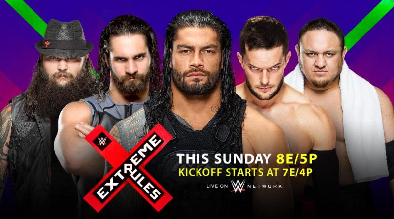 WWE Extreme Rules 2017 preview - Fatal 5-Way
