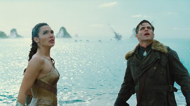 Wonder-Woman-movie-Gal-Gadot-and-Chris-Pine.