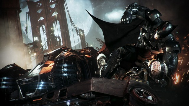 Batman Arkham Knight - Batman vs Firefly