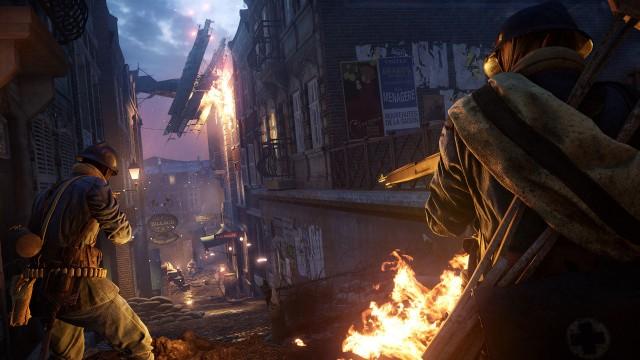 Battlefield 1 Prise de Tahure fight