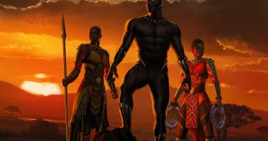 New Black Panther poster from D23 revealed