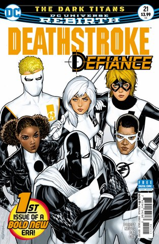 Deathstroke #21 cover