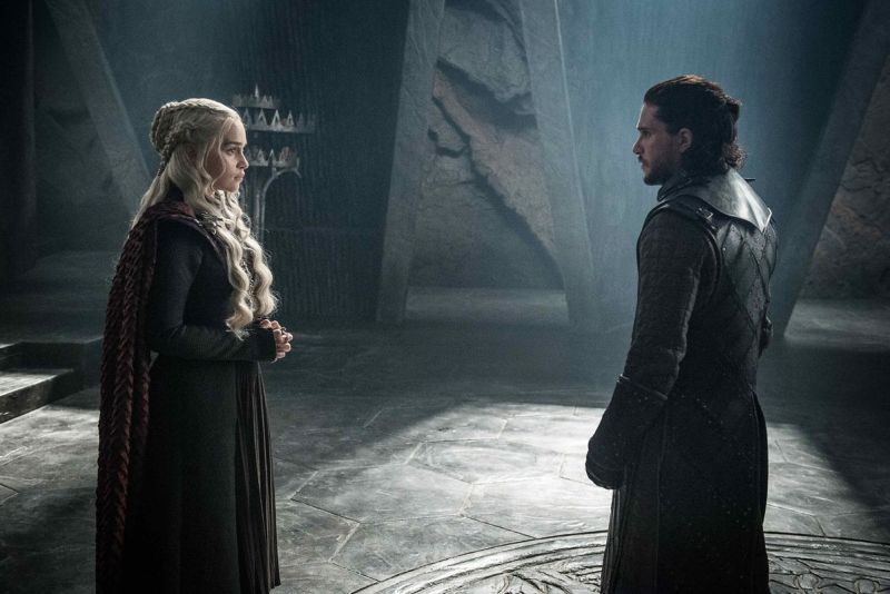 Game of Thrones The Queen's Justice review - Daenerys and Jon Snow