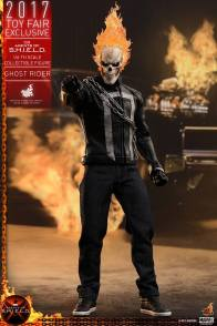 Hot Toys Agents of SHIELD Ghost Rider figure -pointing