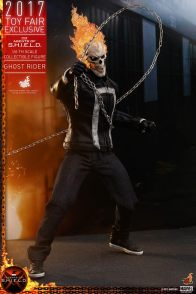 Hot Toys Agents of SHIELD Ghost Rider figure -slinging chain
