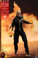 Hot Toys Agents of SHIELD Ghost Rider figure - with fireballs