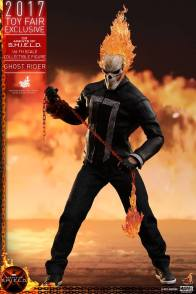 Hot Toys Agents of SHIELD Ghost Rider figure -with lit chain