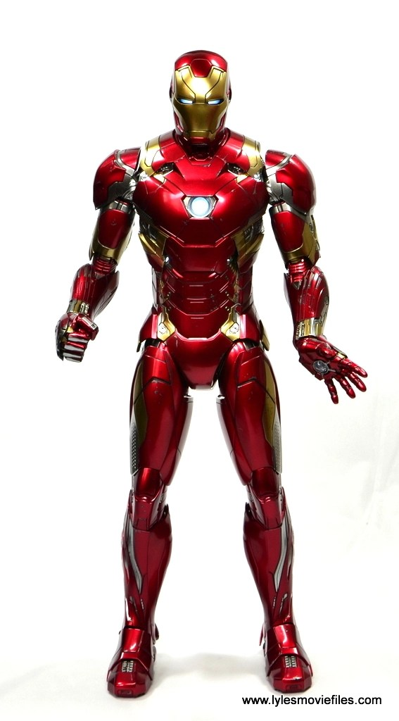 Hot Toys Captain America Civil War Iron Man Mark 46 figure ...