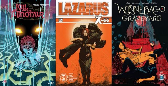 Image Comics reviews 7-19-17
