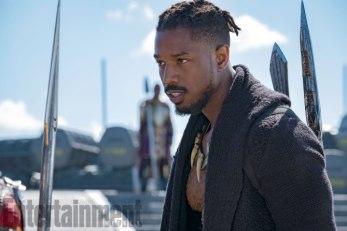 Marvel-Black-Panther-movie-pictures-Michael-B-Jordan-as-Erik-Killmonger