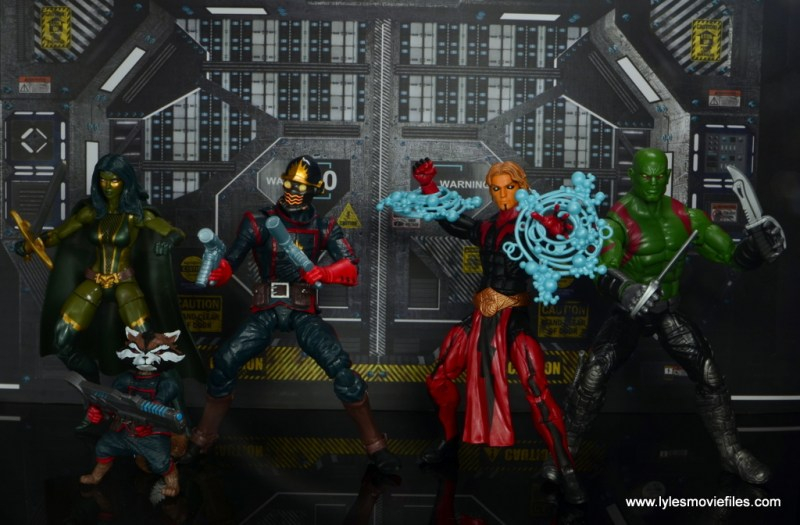 Marvel Legends Adam Warlock figure review - Guardians of the Galaxy ready for battle