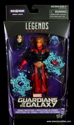 Marvel Legends Adam Warlock figure review - package front