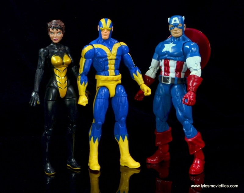 Marvel Legends Ant-Man SDCC 2015 set review - Goliath scale with Wasp and Captain America