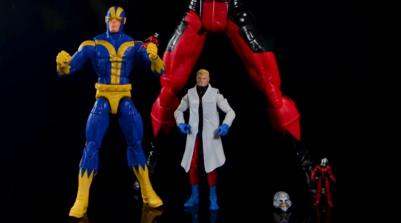Marvel Legends Ant-Man SDCC 2015 set review - main image