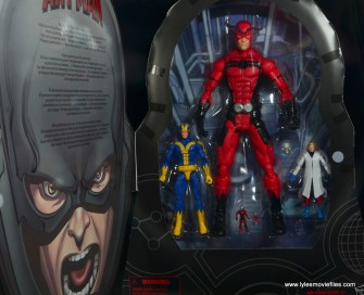 Marvel Legends Ant-Man SDCC 2015 set review -package inner tray
