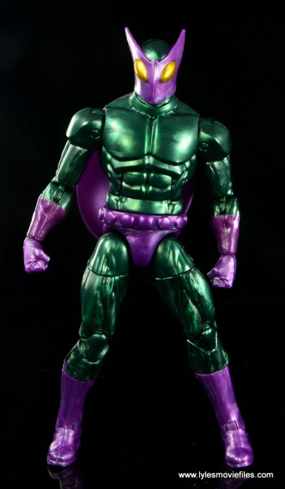 Marvel Legends Beetle figure review -front
