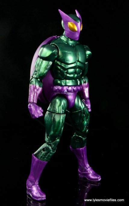 Marvel Legends Beetle figure review -right side
