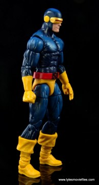 Marvel Legends Cyclops and Dark Phoenix figure review - Cyclops right side