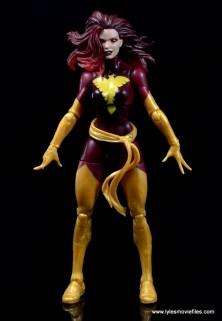 Marvel Legends Cyclops and Dark Phoenix figure review -Dark Phoenix front