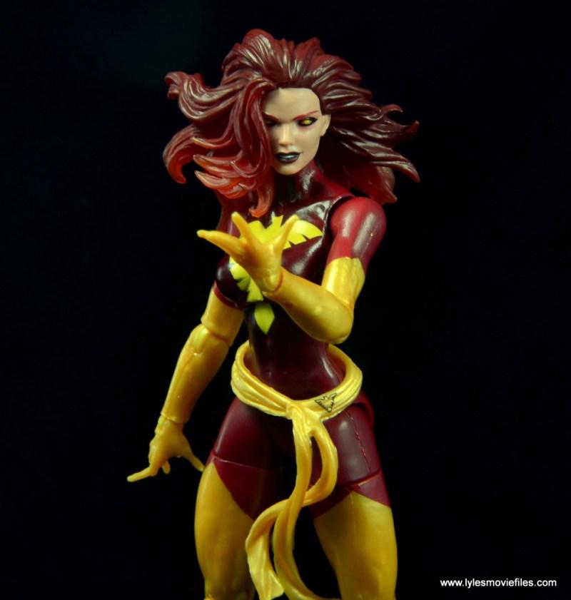 Marvel Legends Cyclops and Dark Phoenix figure review -Dark Phoenix taunting