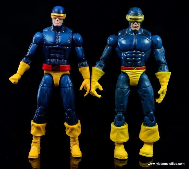 Marvel Legends Cyclops and Dark Phoenix figure review - with Toy Biz Cyclops