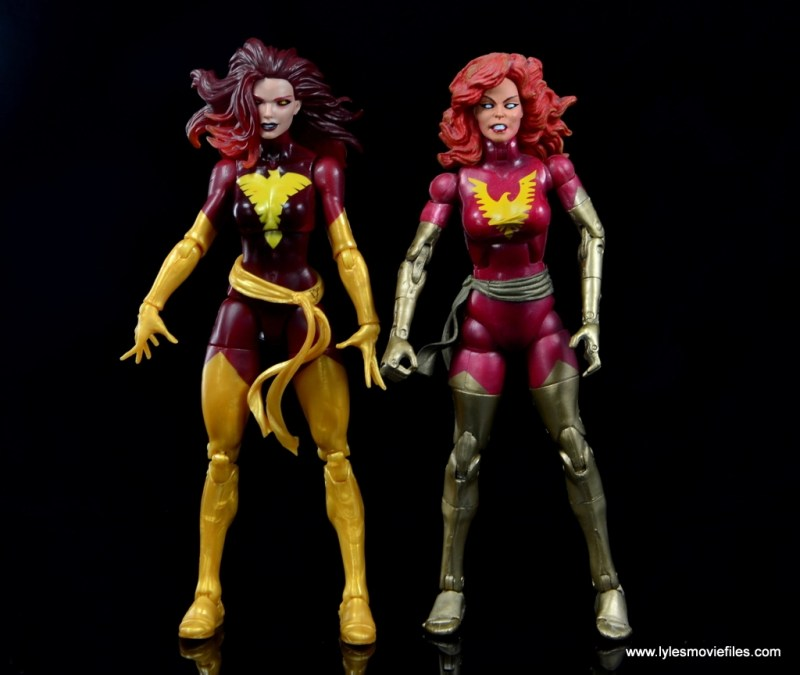 Marvel Legends Cyclops and Dark Phoenix figure review -with Toy Biz Dark Phoenix