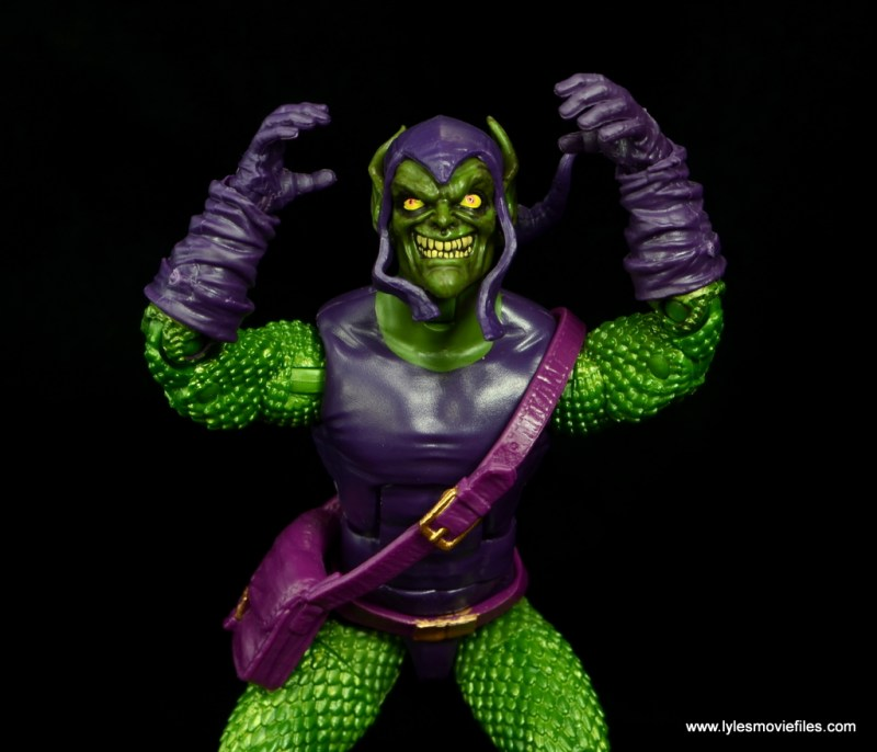 Marvel Legends Green Goblin figure review -going crazy