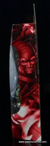 Marvel Legends Green Goblin figure review - package side