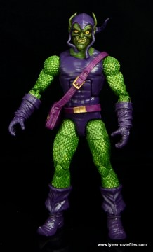 Marvel Legends Green Goblin figure review -straight