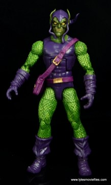Marvel Legends Green Goblin figure review -straight