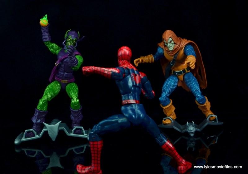 Marvel Legends Green Goblin figure review -teaming with Hobgoblin vs Spider-Man